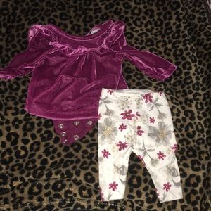 Just one you by Carter's babygirl newborn outfit